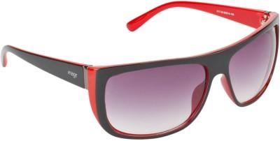 IMAGE S417-C4 Wayfarer Sunglasses(Grey, Violet)