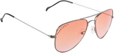 Farenheit FA-FA3001-c4 Aviator Sunglasses(Orange)
