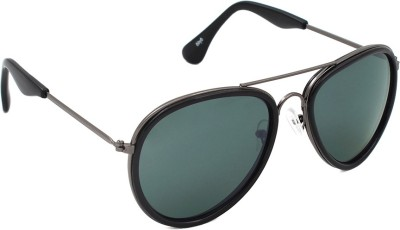 6by6 SG1634 Aviator Sunglasses(Green)