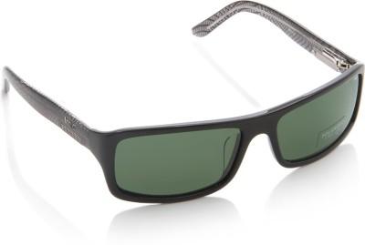 IMAGE S290-C3 Rectangular Sunglasses(Green)