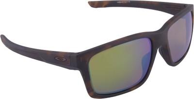 Oakley Mainlink Matte Tortoise w/ Prizm Shallow Water Polarized Wayfarer Sunglasses