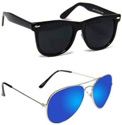 Epic Ink Wayfarer, Aviator Sunglasses