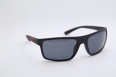 Prada 0PS 02QS Linea Rossa Sports, Wrap-around Sunglasses