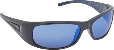 Arnette AN_4139_HPBLUBLK Rectangular Sunglasses(Blue)