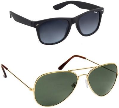 VIJEX Wayfarer, Aviator Sunglasses