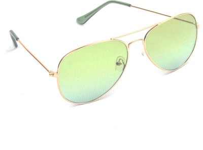 6by6 SG464 Aviator Sunglasses(Green)