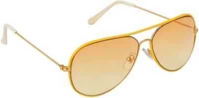 Danny Daze D-602-C3 Aviator Sunglasses(Brown)