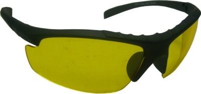 Abqa Bat Premium Hd Vision Anti Glare Biking Night Driving Wrap-around Sunglasses