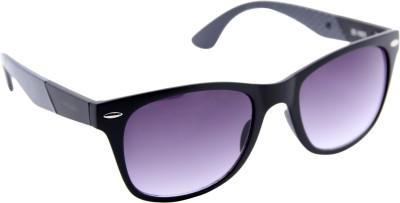 Gansta Gansta ZE-1023 Grey wayfarer sunglass with gradient lens Wayfarer Sunglasses(Grey)