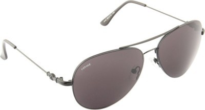 Voyage 1840MG1072 Aviator Sunglasses(Black)