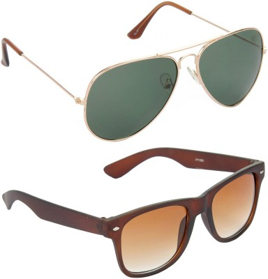 Red Leaf RCMB107_1 Aviator, Wayfarer Sunglasses(For Boys)