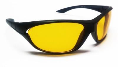 EyeMet Night Drive Wrap-around Sunglasses