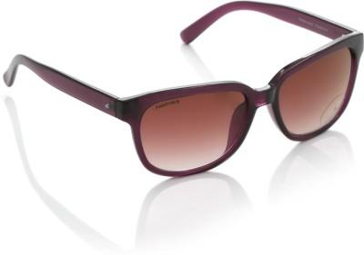 Fastrack P286PR1F Wayfarer Sunglasses(Pink)
