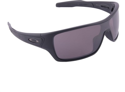 Oakley Turbine Rotor MateBlk w/PrizmDlyPolar Wrap-around Sunglasses