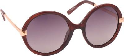 BARCODE Round Sunglasses