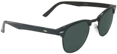 Epic Ink clblk4 Round Sunglasses(Green)