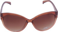 Miami Blues MB7036C Over-sized Sunglasses(Brown)