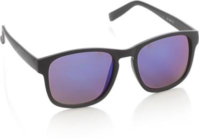 Joe Black JB-495-C4 Rectangular Sunglasses(Violet, Blue)