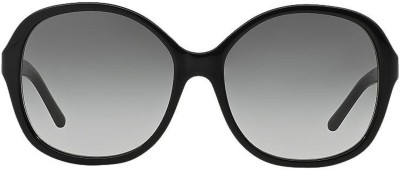 Burberry BE4178300111 Over-sized Sunglasses(Grey) at flipkart