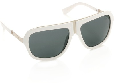 Gio Collection 3318 tortoise P12163 Over-sized Sunglasses(Grey)