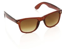 Gio Collection 0018 Brown P12216 Wayfarer Sunglasses(Brown)