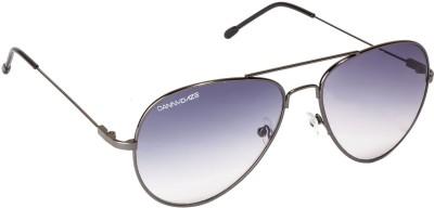 Danny Daze D-007-C3 Aviator Sunglasses(Blue)