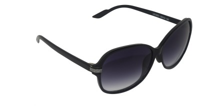 Brunette Rectangular Sunglasses
