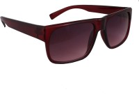 Sushito JSMFHGO0644 Wayfarer Sunglasses(Red)