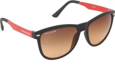 Danny Daze D-3204-C1 Wayfarer Sunglasses(Black)