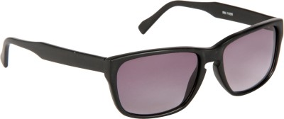 Cristiano Ronnie Black with gradient lenses Rectangular Sunglasses