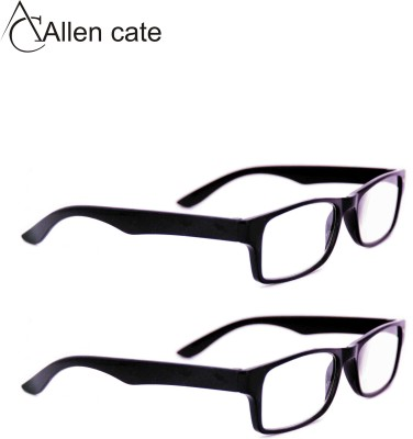 Allen Cate Combo of +1.50 Spherical Reading Eye Spectacle  Sunglasses