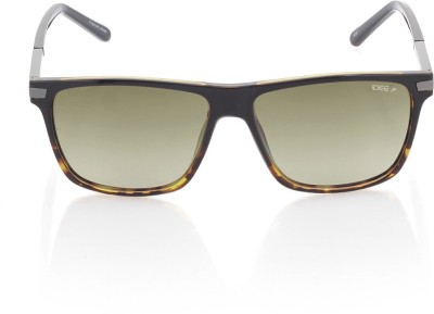 IDEE IDS2182C3PSG Rectangular Sunglasses(Green)