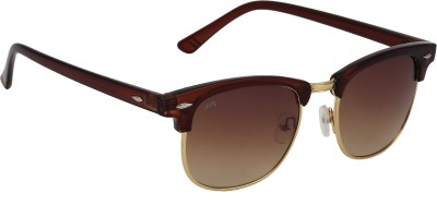 Fave FV014F01 Wayfarer Sunglasses(Brown)