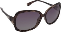 Aks ffs104 Oval Sunglasses(Grey)