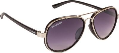 Danny Daze D-81-C6 Aviator Sunglasses(Violet)