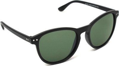 6by6 SG1039 Cat-eye Sunglasses(Green)