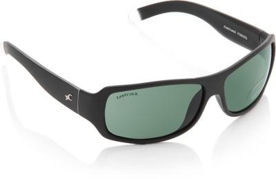 Fastrack P089GR3 Rectangular Sunglasses(Green)