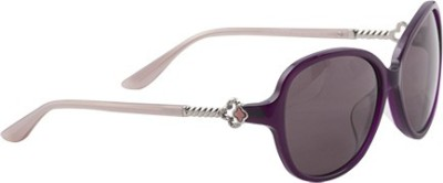 Celine Dion CD5129S C1 Oval Sunglasses(Grey) at flipkart