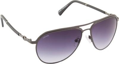 Voyage 1861MG1089 Aviator Sunglasses(Black)