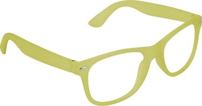 Garmor (8903522115004 /Transparent Color Green Frame) Wayfarer Sunglasses