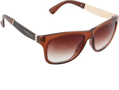 Farenheit 1201-C4 Wayfarer Sunglasses(Brown)