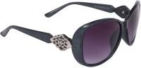Camerii CL16Best104 Over-sized Sunglasses(Black)
