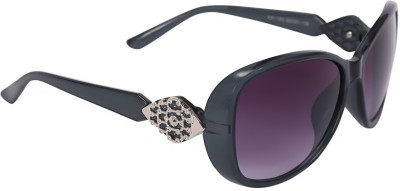 Camerii CL16Best104 Over-sized Sunglasses(Black)