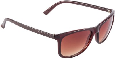 Farenheit FA-1102-C3 Wayfarer Sunglasses(Brown)
