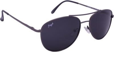 Floyd 121043_G.MTL_GREY Aviator Sunglasses(Grey)