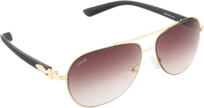 Voyage 1878MG1104 Aviator Sunglasses(Brown)