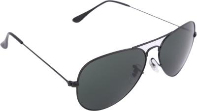 Imagica Black Aviator Sunglasses