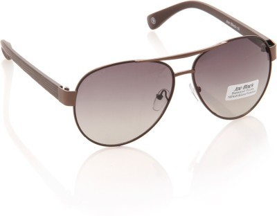Joe Black JB-604-C3 Aviator Sunglasses(Brown)