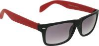 Vast WAYFARER_PLASTIC_BLACK_RED Wayfarer Sunglasses(Grey)