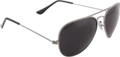 Malocchio Metallic Charm Aviator Sunglasses
